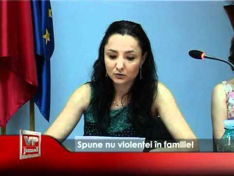 Spune nu violenței în familie!