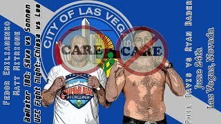 Bellator Fedor vs Mitrione + UFC Sunday Care/Don