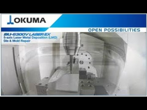 Okuma MU-6300V LASER EX 5-Axis LMD and Die&Mold Repair