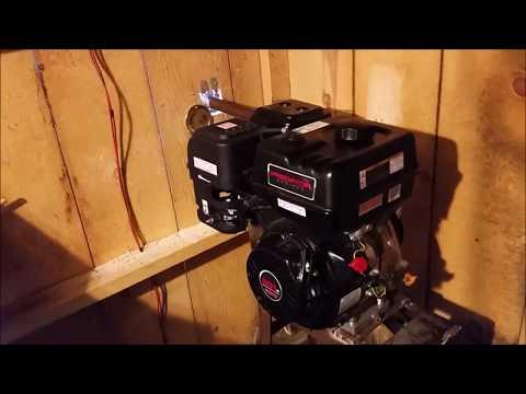 Predator 301 electric start/charging system - смотреть