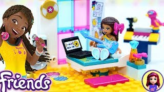 Lego Friends Andreas Bedroom Build Silly Play With Kids Toys