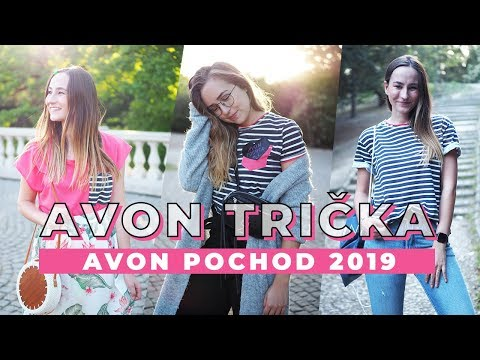Jaká budou trička na Avon Pochod 2019?