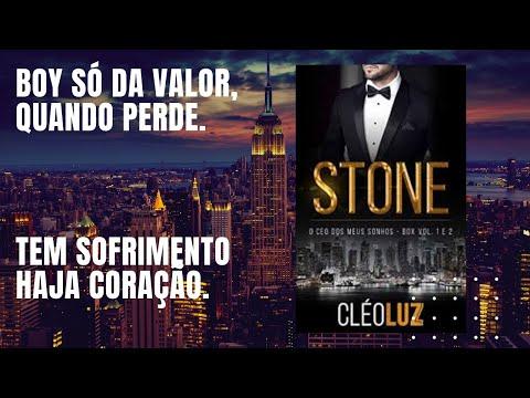 OS STONE LIVRO 1/ STONE - O CEO DOS MEUS SONHOS/ PRA QUEM AMA SOFRER. .