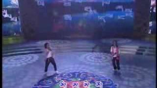 Losar 2010, Tibetan Song Of Ka Kha Ga Nga.flv