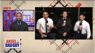 UFC 234 Pre-Show   Ariel & The Bad Guy   ESPN MMA