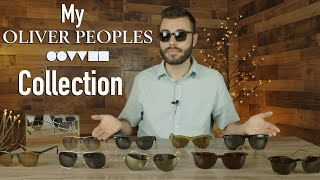 My Oliver Peoples Collection