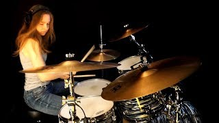 """Video thumbnail of """"Easy Lover (Phil Collins, Philip Bailey) drum cover by Sina"""""""