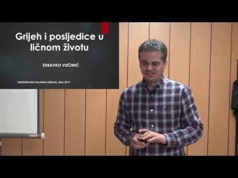 Zdravko Vučinić: Grijeh i posljedice u ličnom životu
