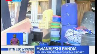 Polisi Eldoret wamkamata mwanajeshi bandia