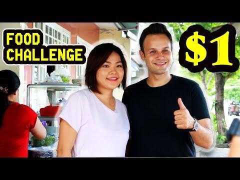 $1 Food Challenge | Da Nang Food Tour with The Food Ranger
