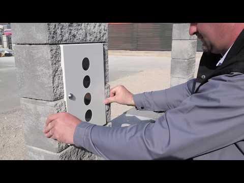 Häusler GesmbH Verarbeitungsvideo - Einbau Briefkasten Extragross
