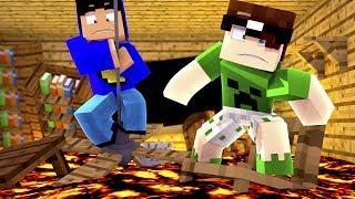 Minecraft: O CHÃO É LAVA!