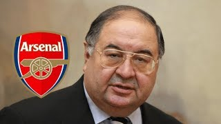 Arsenal FC: Frustrated Usmanov is set to sell his AFC shares!!
