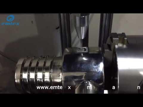 Dot Peen Marking Machine With Rotary ST1010-R