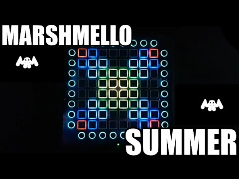 Marshmello - Summer // Launchpad PRO Cover + Project File