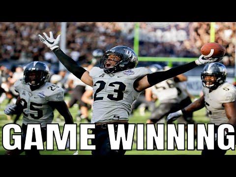 College Football Game Winning Interceptions | Part 2