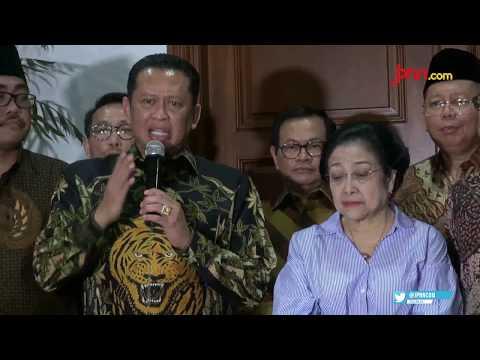 Bertemu Megawati, Pimpinan MPR RI Bahas Usulan Amendemen Terbatas UUD NRI 1945