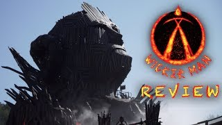 Wicker Man Review Alton Towers New for 2018 GCI Roller Coaster