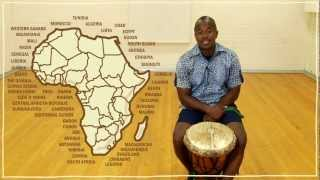 Five(ish) Minute Drum Lesson - African Drumming: Lesson 1: The Djembe