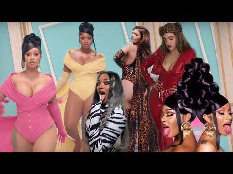 Kylie Jenner y Rosalía SE LLEVAN TODA LA ATENCIÓN en el nuevo video de Cardi B y Megan Thee Stallion
