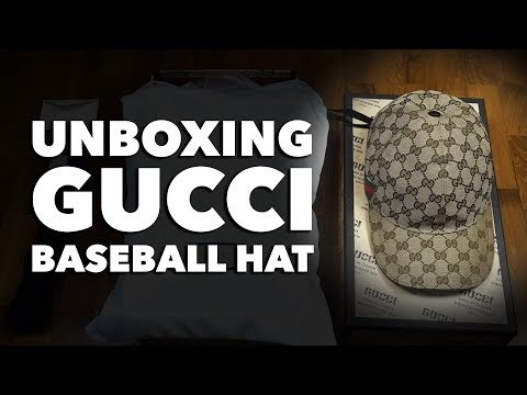 Unboxing Things: Gucci Original GG Canvas Baseball Hat