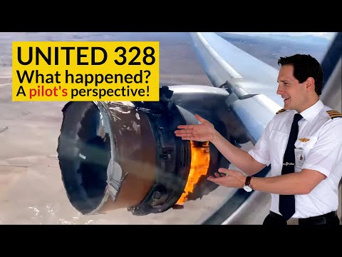 Download UNITED 328 Engine Failure! WHAT CHECKLISTS did the pilots use? Explained by CAPTAIN JOE HD Mp4 3GP Video and MP3