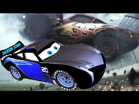 Disney Сars 3 2017 crash Jackson Storm Lightning McQueen Dinoco Cruz Ramirez Cartoon for Kids