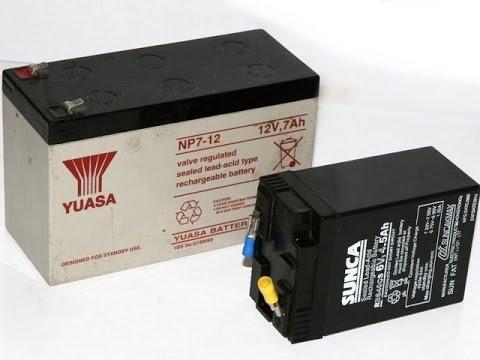 Восстановление свинцового аккумулятора от ИБП UPS