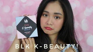 BLK ANUNEY? BLK K-Beauty Line Review!