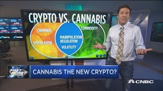 The SEC is warning about pot stocks, and the reasons are similar to those for cryptocurrencies