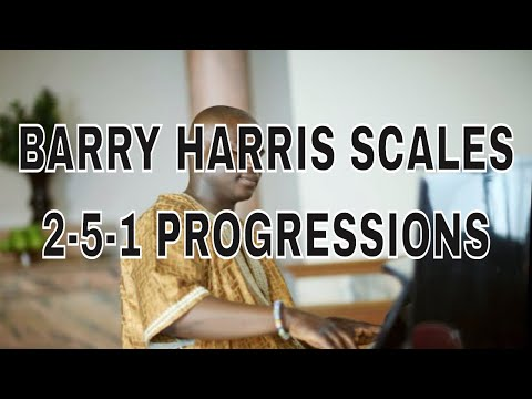 Which diminished chord to use in your 2-5-1 progression. Barry Harry 6th diminished Approach