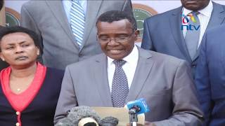 Maraga's rare fury in wake of protests - VIDEO