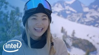 U.S. Olympic Hopeful Chloe Kim on the Mountain | Intel | Kholo.pk