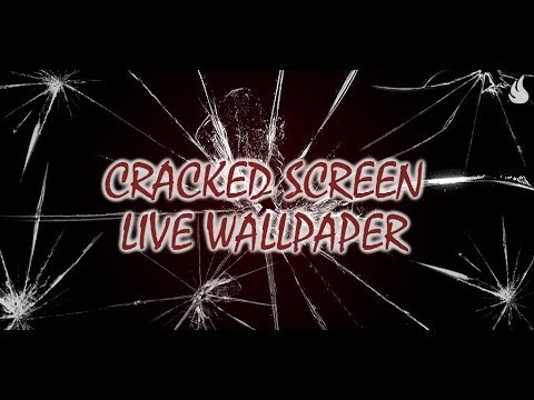 Video of Cracked Screen Live Wallpaper