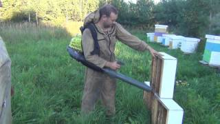 Видео Тест Драйв Воздуходувки Отбор меда