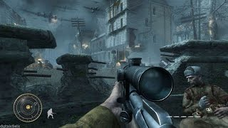 Great Sniper Mission from Call of Duty World at War ! Vendetta. Best Games on PC