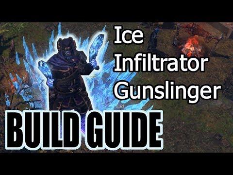 Grim Dawn] Dual Pistol Purifier Devotion Build - смотреть