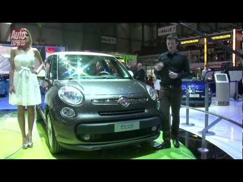 GENEVA 2012 - Fiat 500L - Auto Express
