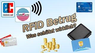 RFID Betrug - Was schützt wirklich?