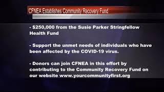 CFNEA Establishes Community Recovery Fund