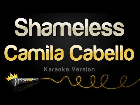 Camila Cabello - Shameless (Karaoke Version)