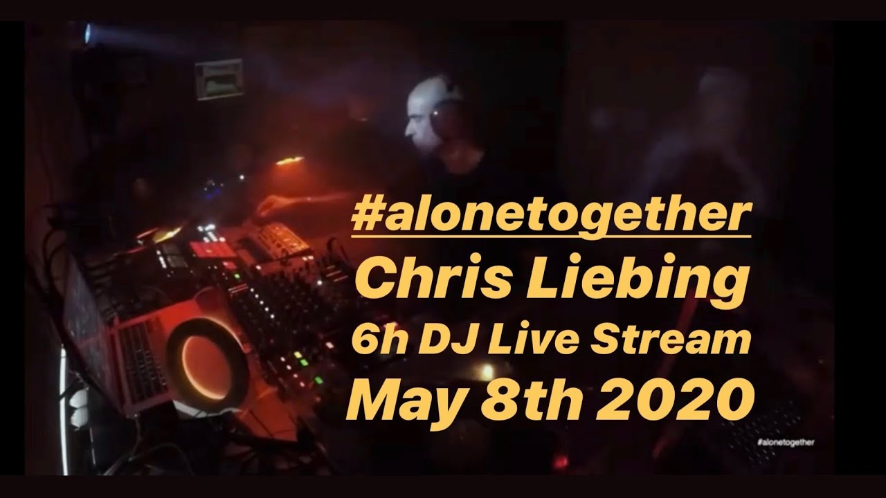Chris Liebing - Live @ #alonetogether #4 2020