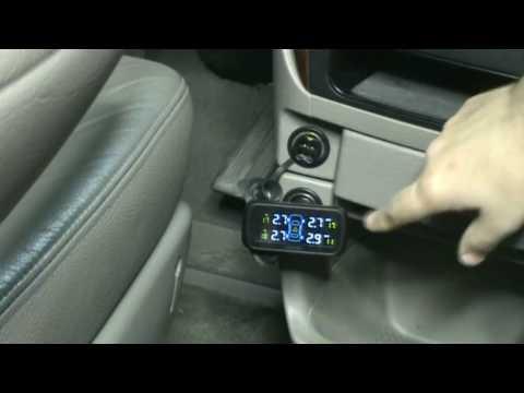 Instalar kit de control de presión de neumáticos TPMS