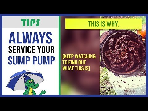 �Sump Pump Maintenance - Why Should I Service My Sump Pump?