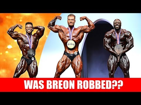 Chris Bumstead wins Classic Olympia, Was Breon Robbed?