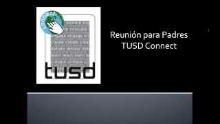 Parent Meeting Online - Spanish