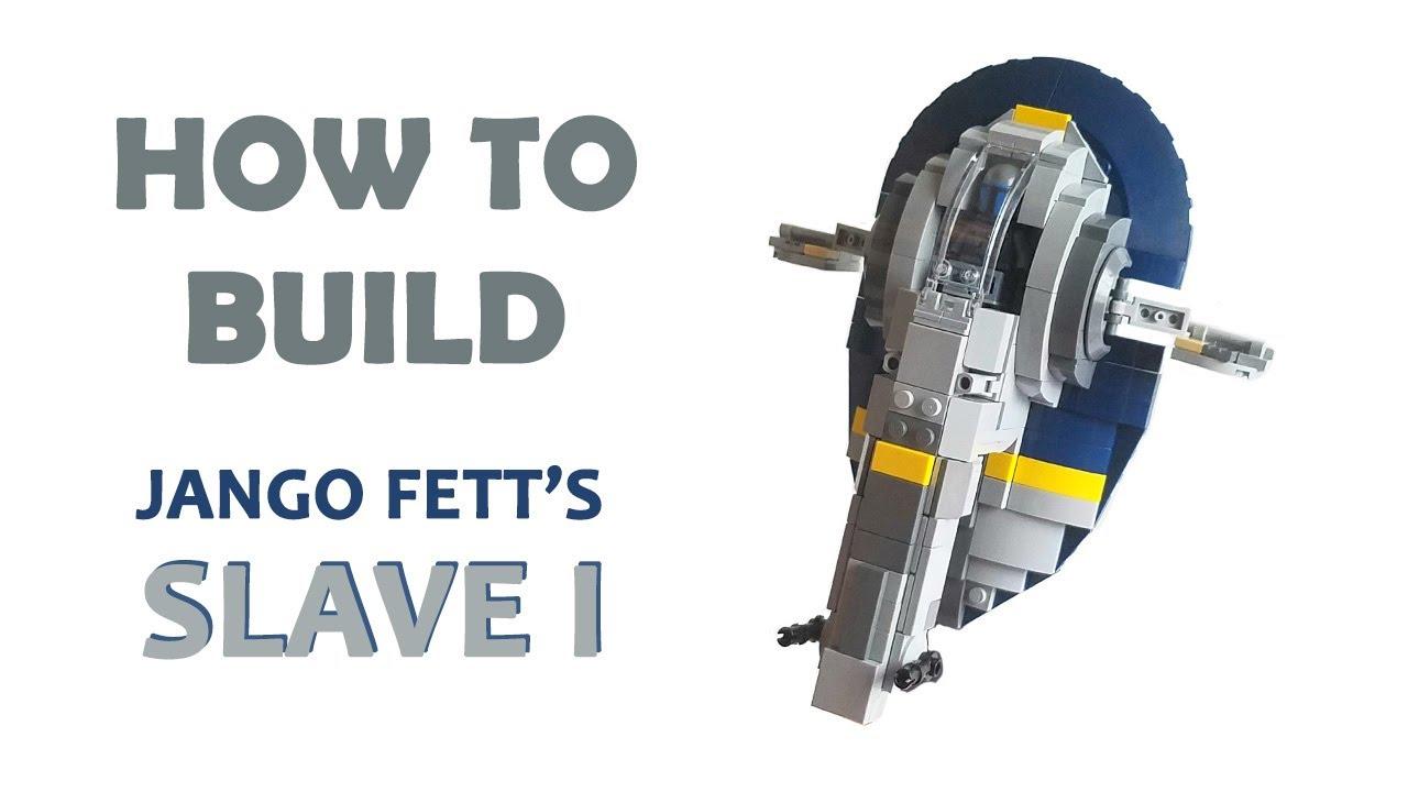 Lego Star Wars Jango Fett's Slave 1 MOC   Building Instructions