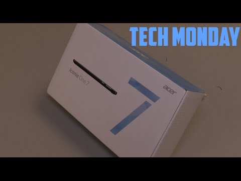 Tech Monday EP: 02 - Acer Iconia One 7