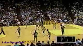 Magic Johnson 1987: 39pts vs. Boston Celtics