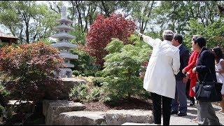 Opening the Itabashi Garden in Burlington